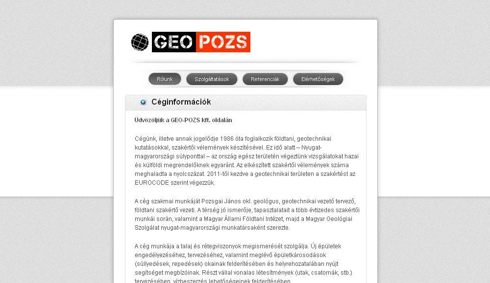 Geo-Pozs Kft