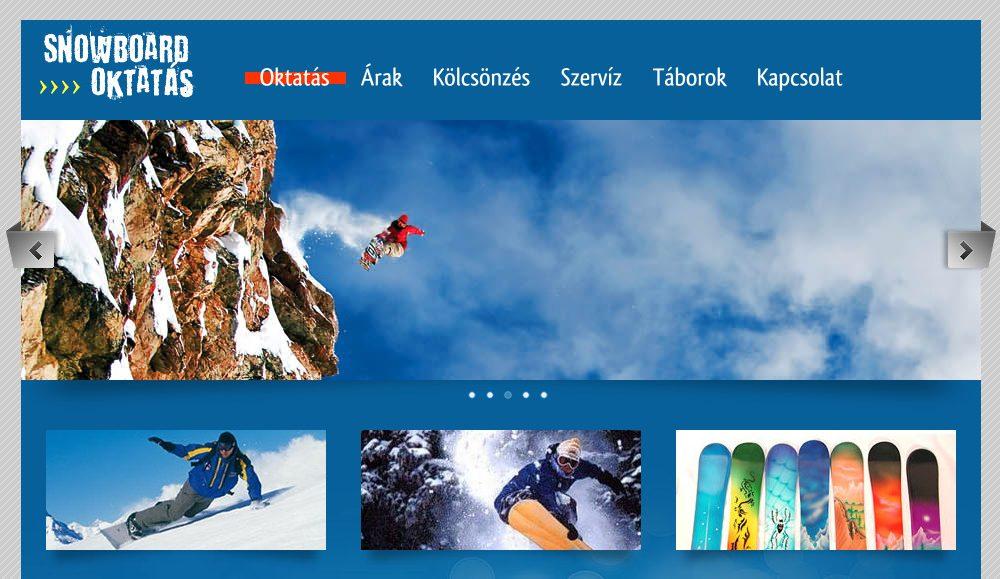 Snowboard Oktatás