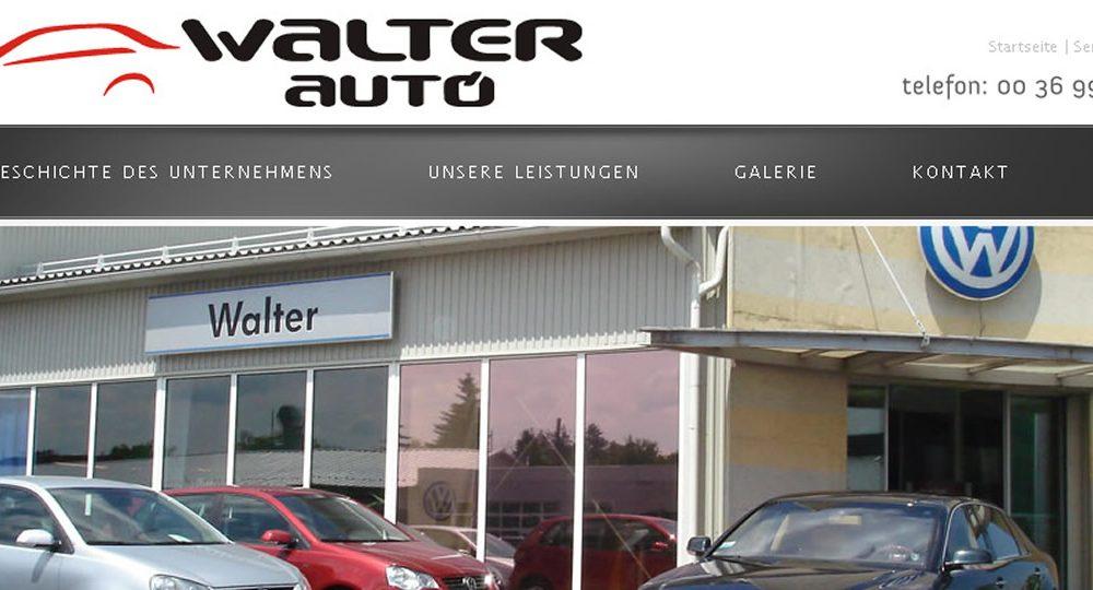Walter Auto Sopron