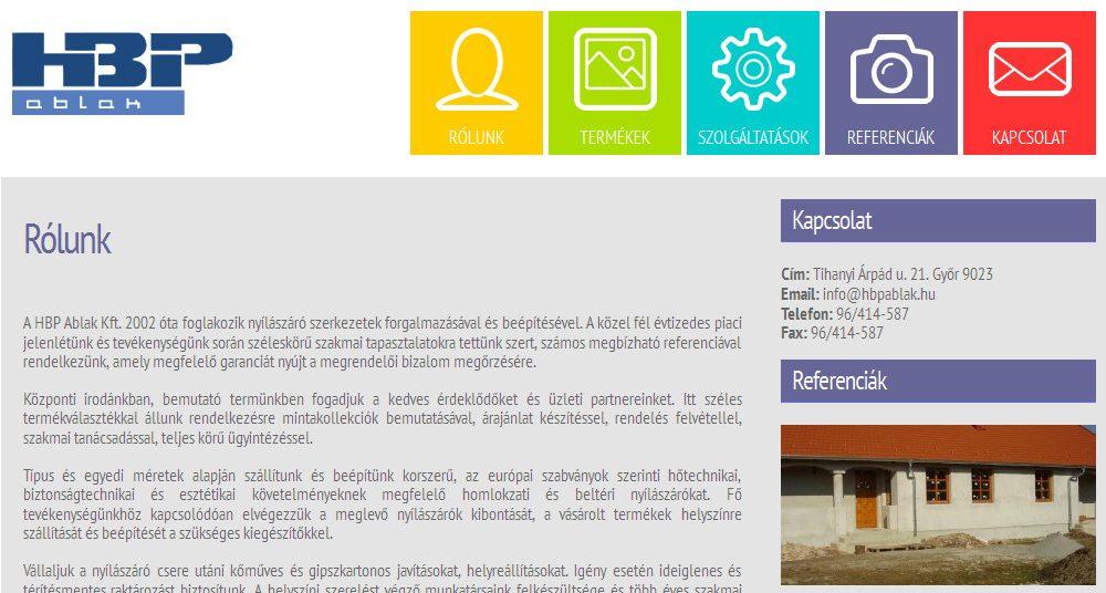 HBP Ablak Kft.