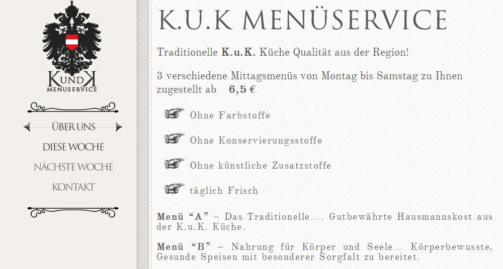 K.u.K Menüservice