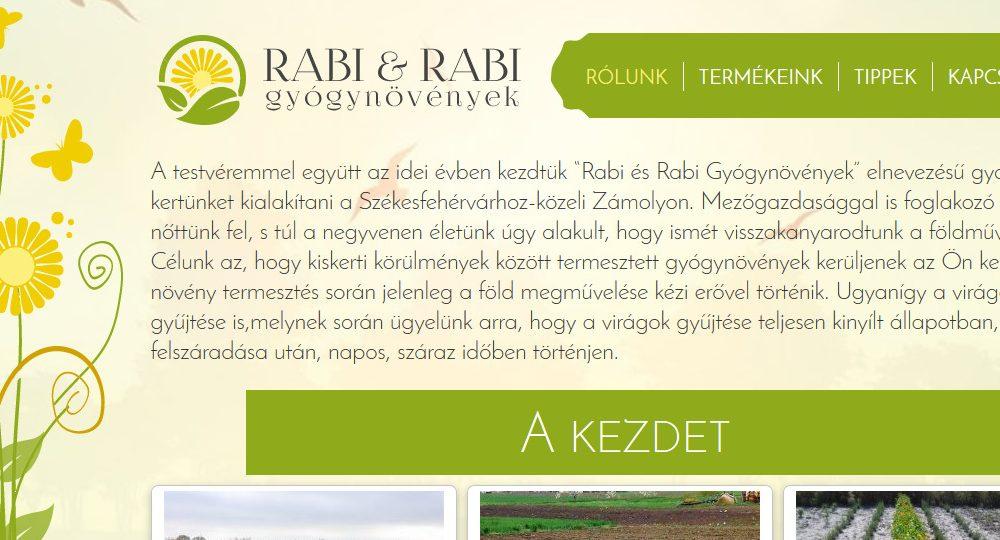 Rabi és Rabi gyógynövények