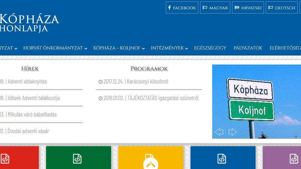 Kópháza – Koljnof honlapja