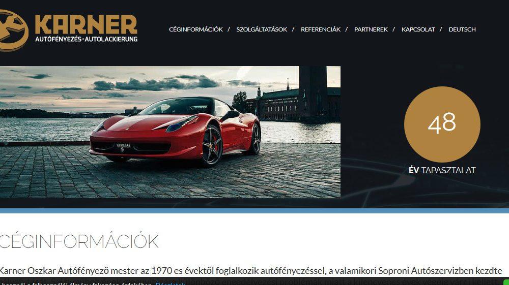 Karner autófényezés Sopron
